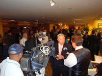 LA County Supervisor Don Knabe talks about the economy at Forecast event. (photo by MAYO Communications.)