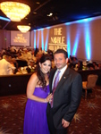 The Noble Awards Creators and Producers Janeen Mansour and Husband Ziad Batal.