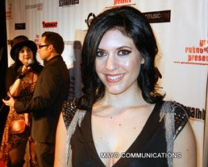 image of Kristen Faulconer on red carpet